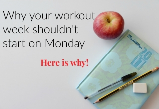Why your workout week shouldn't start on Monday