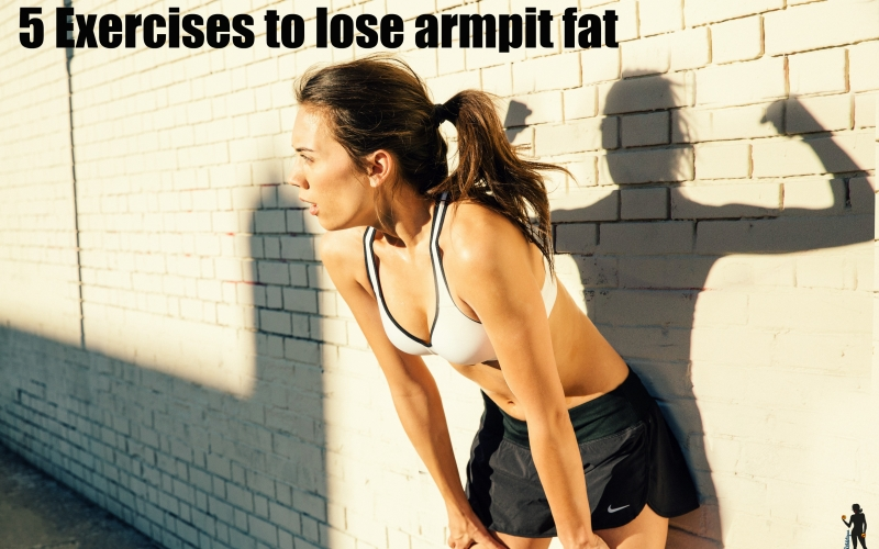 5 Exercises to lose armpit fat and look fabulous