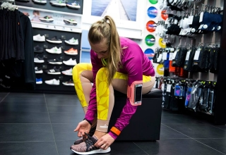Adidas women's evening run & testing new UltaBOOST X