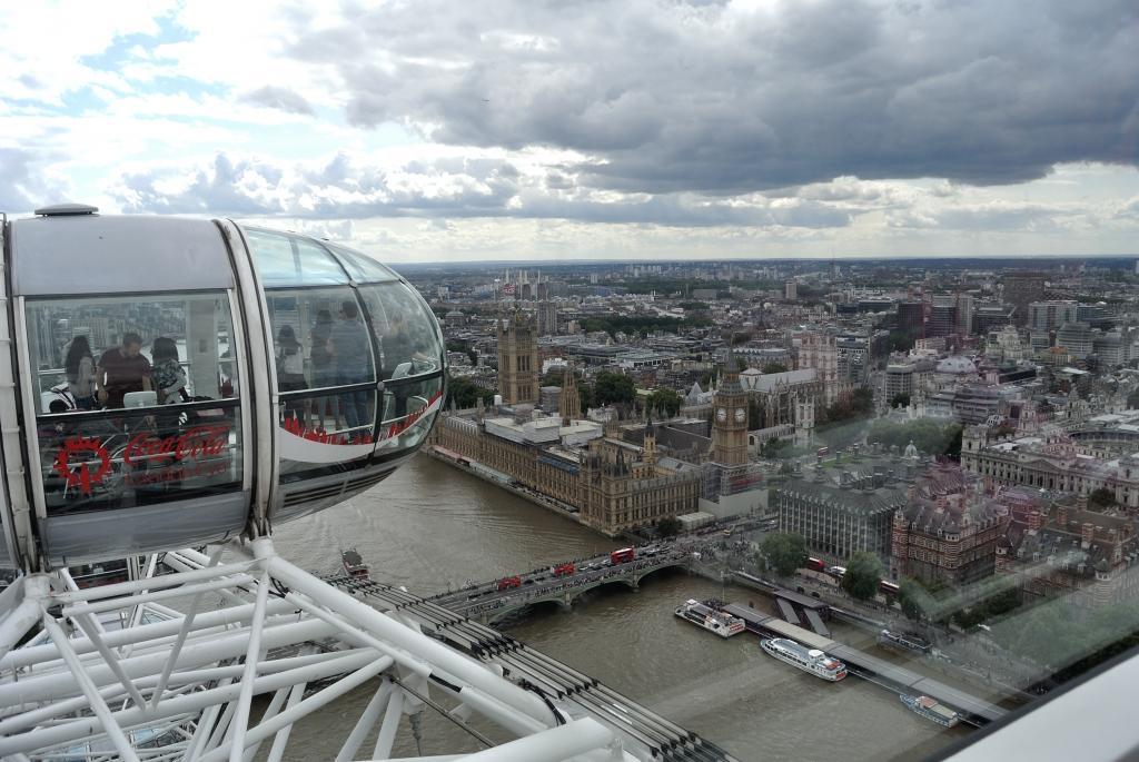 Buckingham Palace from London Eye | www.missathletique.com