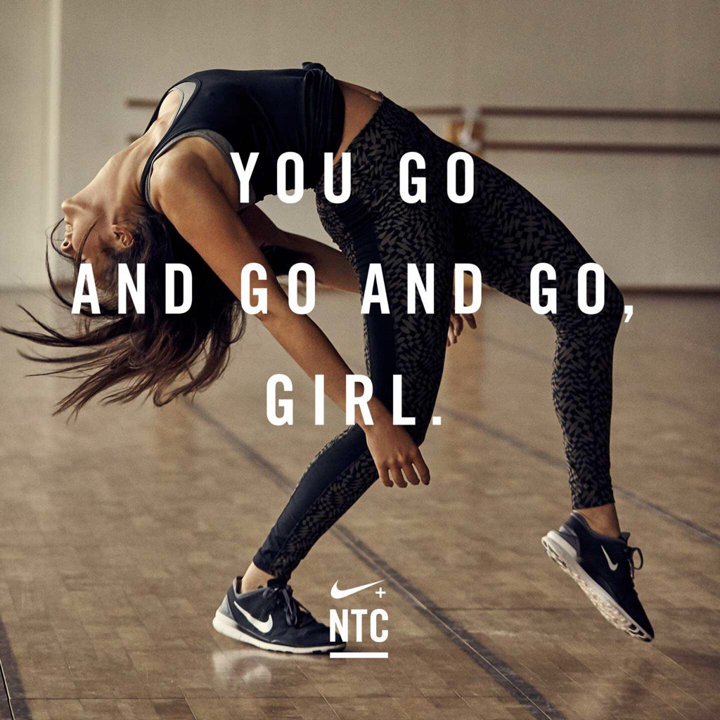 motivational techniques at nike Starting and keeping exercise habits can be mentally and emotionally difficult here are my top 10 strategies to motivate yourself to exercise.